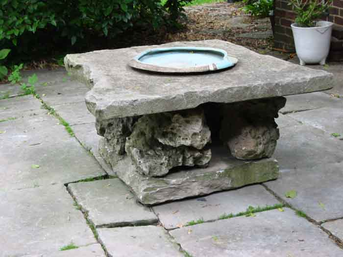 Limestone Table