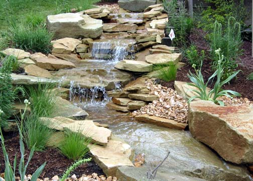 Stone Oak Waterfall